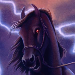 The Black Stallion (Wrap-Around Cover)