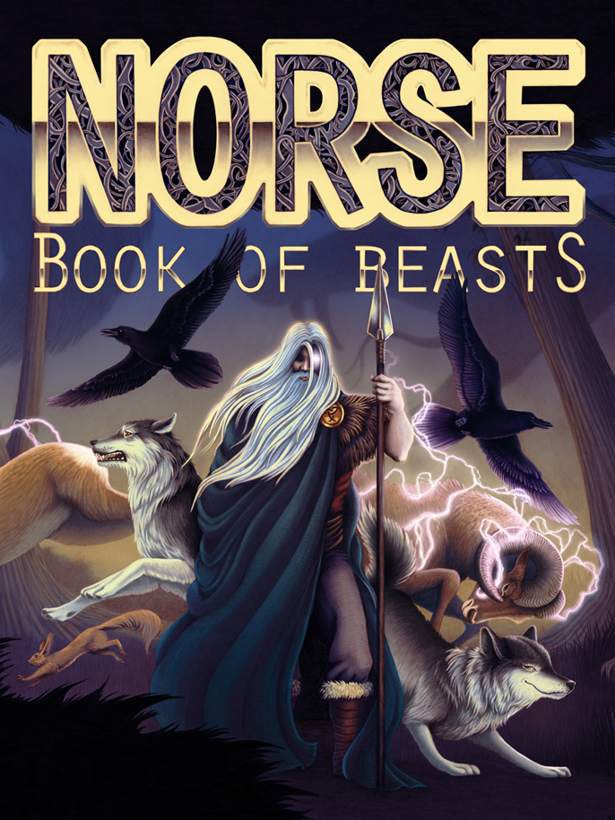 Norse Book of Beasts Front Cover